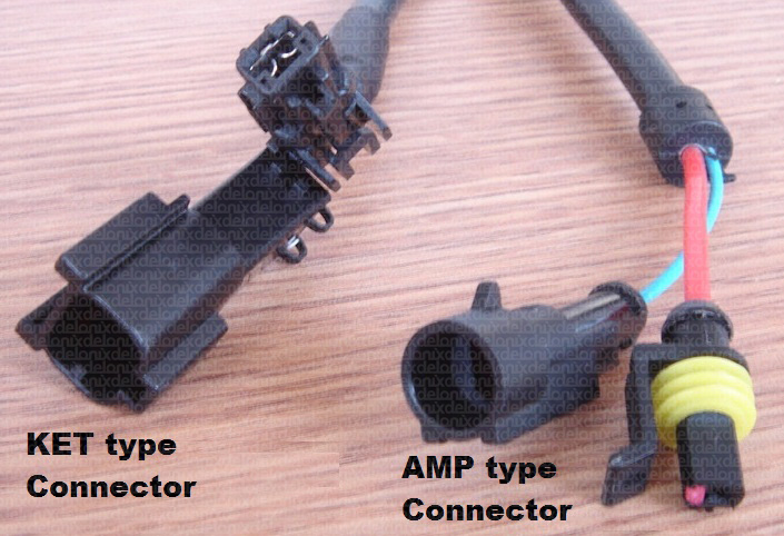KET vs AMP connector