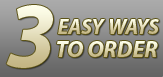 3 EASY WAYS TO ORDER